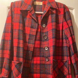 Vintage Pendleton 49er Jacket Red Plaid
